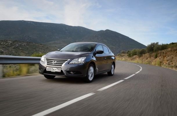 Nissan Sentra 2014-2015 в России