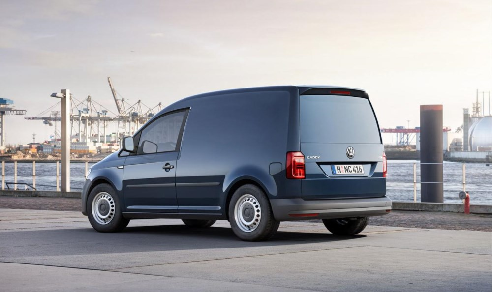 Грузовой вариант Volkswagen Caddy