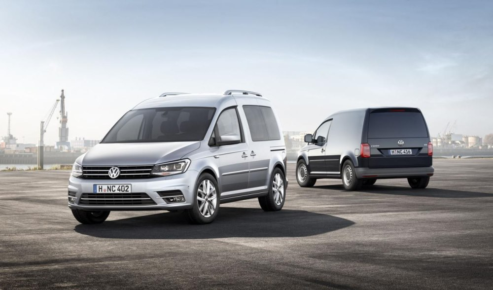 Volkswagen Caddy 2015-2016