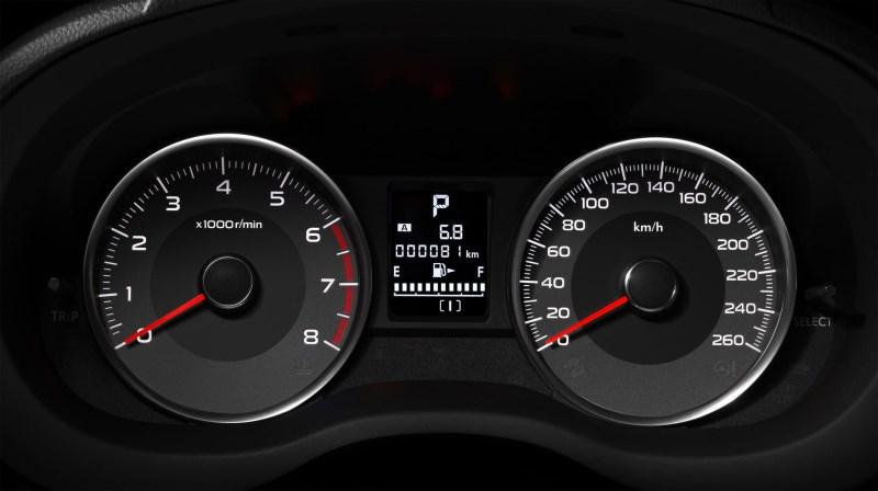 Панель приборов Subaru Forester 2015 рестайлинг