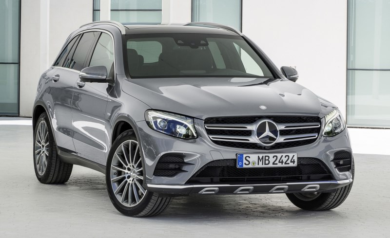 Новый Mercedes-Benz GLC 2016