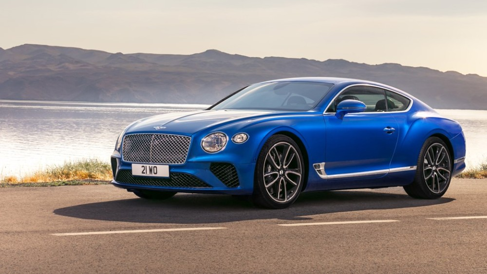 Новый Bentley Continental GT 2018-2019