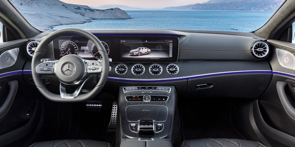 Фото салона Mercedes CLS 2018 Edition 1