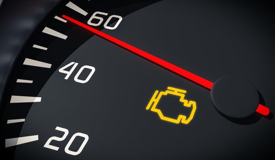 Check Engine на приборном щитке