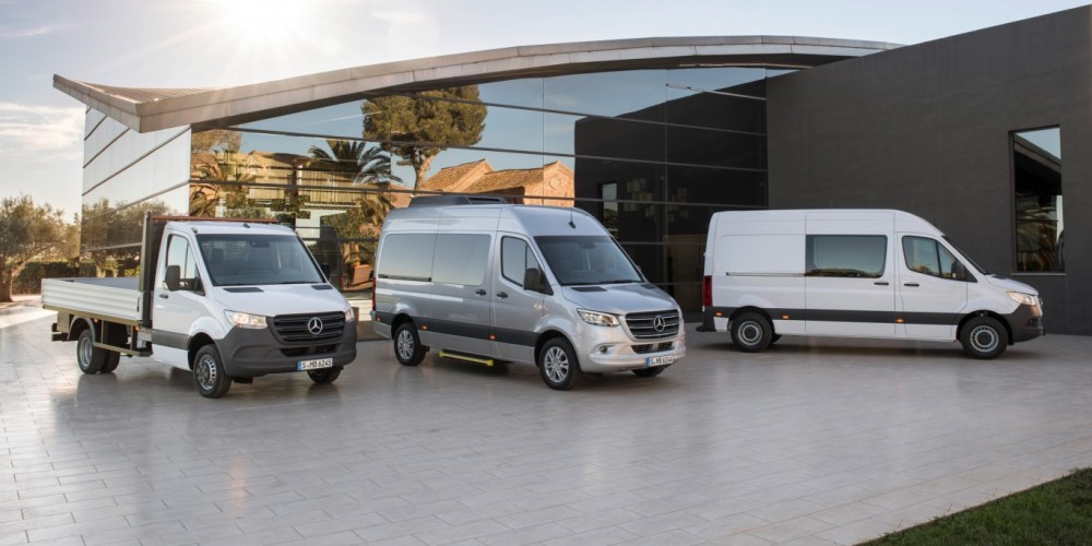 Разные версии Mercedes-Benz Sprinter 3