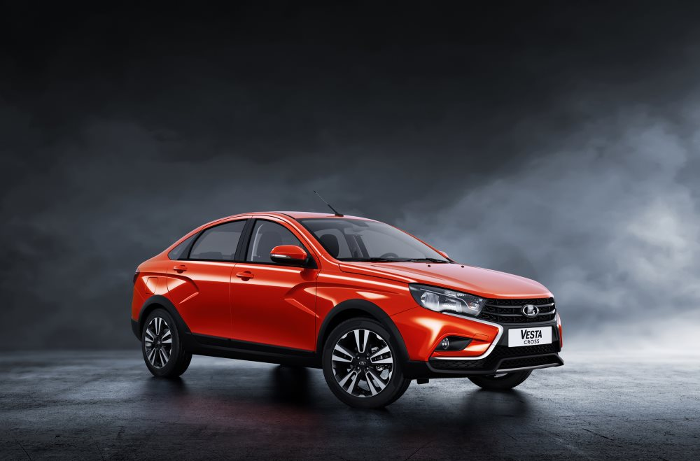 Lada Vesta Cross Sedan 2018-2019 года